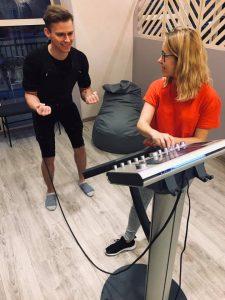 ems Gdynia, studio treningu ems